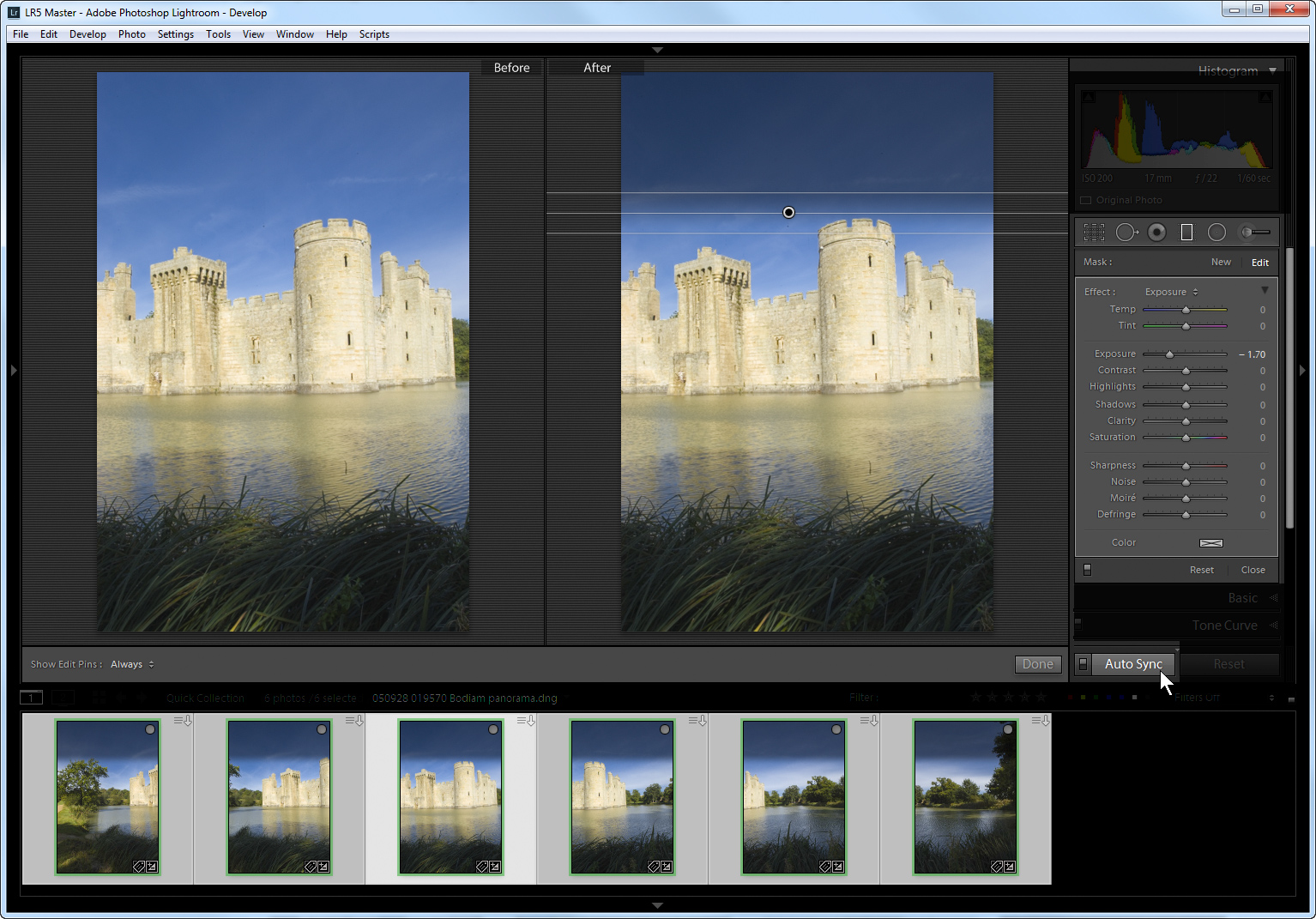Lightroom 5 favourite no 5: AutoSync and local adjustments